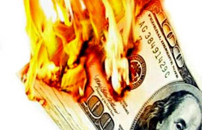 money_on_fire